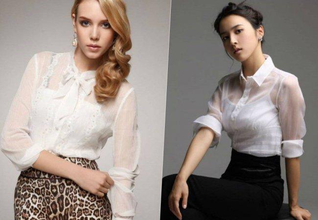 Одежда и женские блузки больших размеров