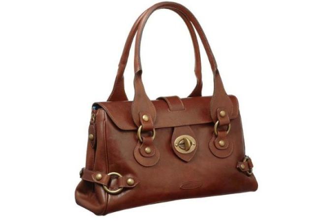 Кожаная сумка: особенности и нюансы