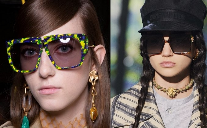 Строго и стильно - защитные солнечные очки