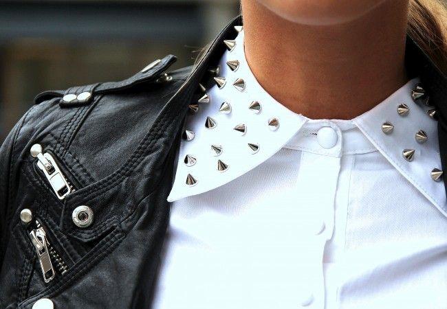 Стильные белые школьные блузки для девочек