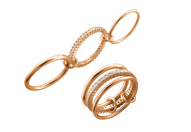 Как выбрать кольца, серьги и цепочки?