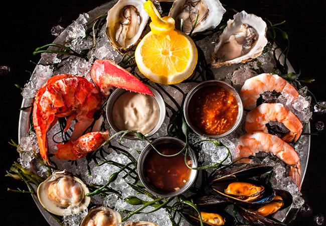 Наиболее популярные морепродукты