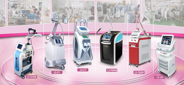 Косметологическое оборудование и аппараты для салонов красоты