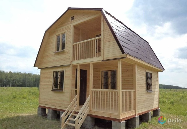 Как быстро и качественно построить каркасный дачный дом?