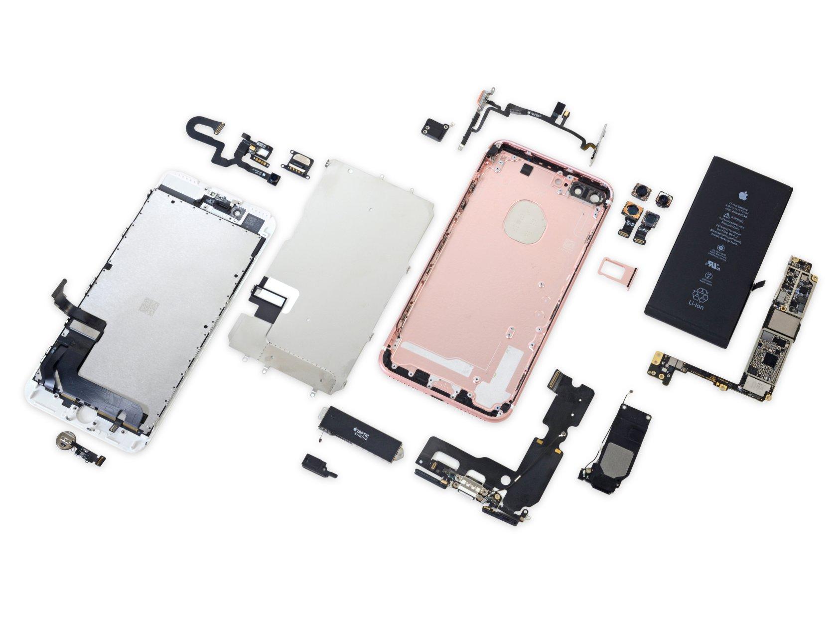 Особенности ремонта экрана iphone 7
