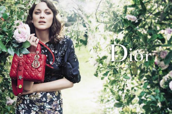 МАРИОН КОТИЙЯР В НОВОЙ РЕКЛАМНОЙ КАМПАНИИ Dior