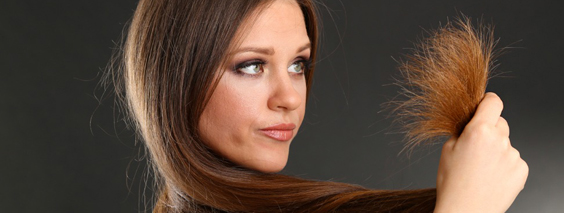 Лечение секущихся кончиков волос, старости лица