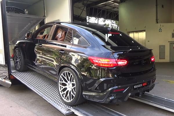 ЭТО НАДО ВИДЕТЬ СВОИМИ ГЛАЗАМИ: Mercedes Brabus GLE 850 6.0 Biturbo Coupe