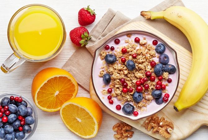 Правильное питание. Необходимые продукты. Советы