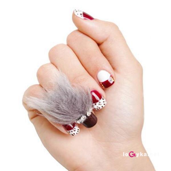 новая мода на ногти выпуклые