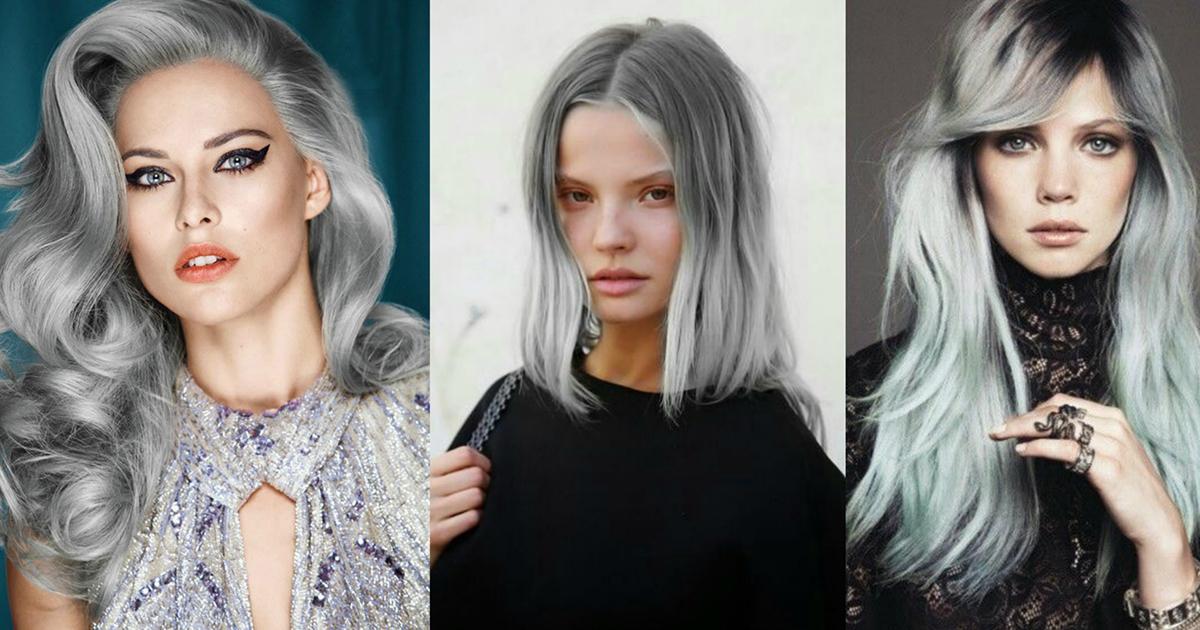 Как сделать серые волосы краска 490