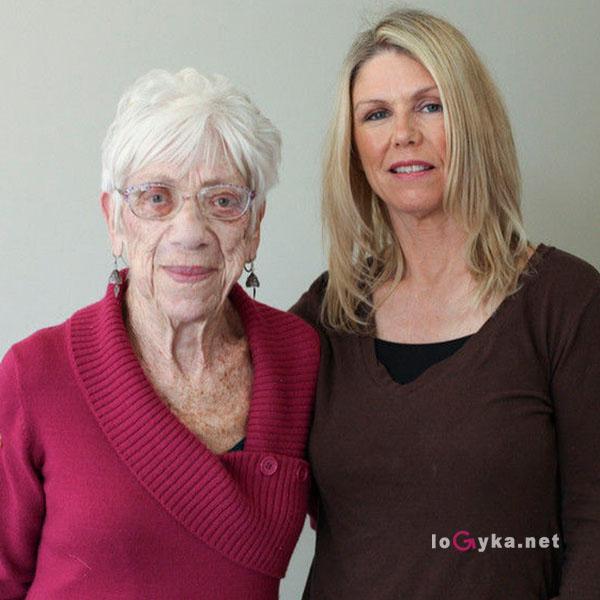 фото голылых тетей возрасте
