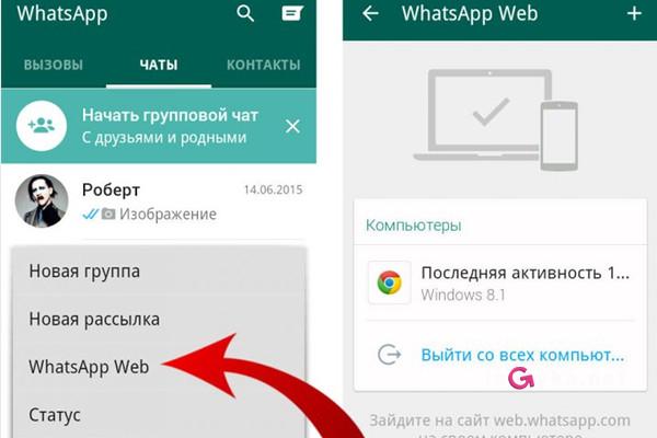 почему галочки в whatsapp синие