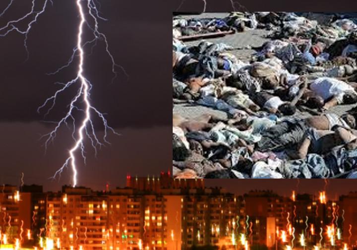 ШОК: В ИНДИИ ЗА СЕГОДНЯШНЮЮ НОЧЬ МОЛНИЯ УБИЛА 55 ЧЕЛОВЕК