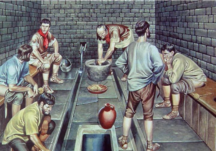 ШОКИРУЮЩАЯ ПРАВДА О РИМСКИХ ОБЩЕСТВЕННЫХ ТУАЛЕТАХ