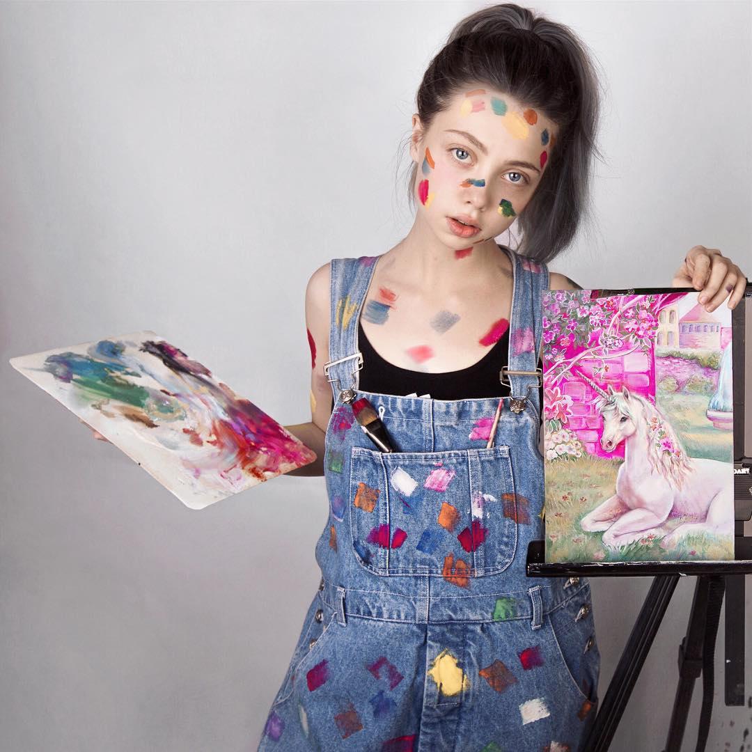 Елена шейдлина рисовать